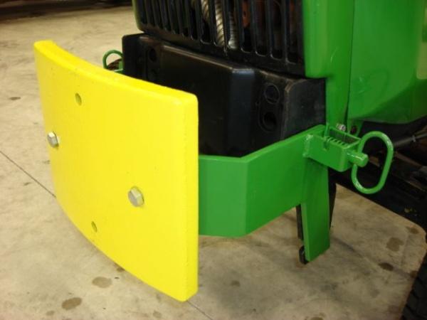 Front Slab Bracket w/o Grill Gard on my workhorse JD430