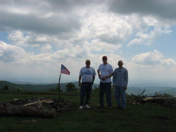Mountaintop - God bless America...and the mountain!