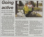 Our Story in our local paper, 6-27-09