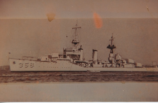 USS Porter. My Uncle Doyle was the bosun's mate on this ship. For some reason (I believe it had to do with drunkenness and/or severe hangover) he was at the helm as they passed through the Panama Canal. He was quite a hero and left the Navy with a drawer full of medals and tuberculosis and spent the next 8 years in a VA hospital.