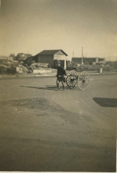 Tokyo handcart.