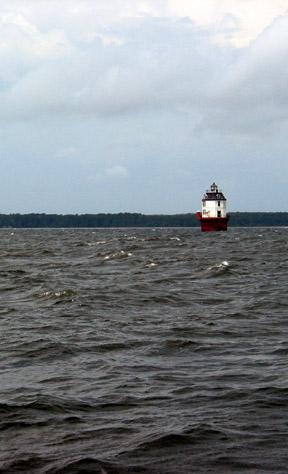 Windmill Point light, Chesapeake Bay