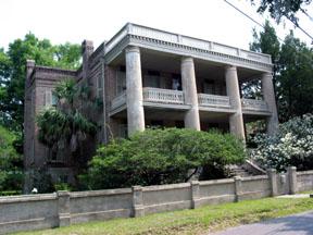 Antebellum home in Beaufort, S.C.