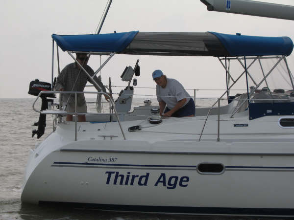 Friends on Third Age, Galveston Bay.