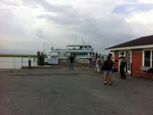 ferry to Sapelo