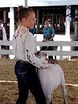 My daughter at fair.