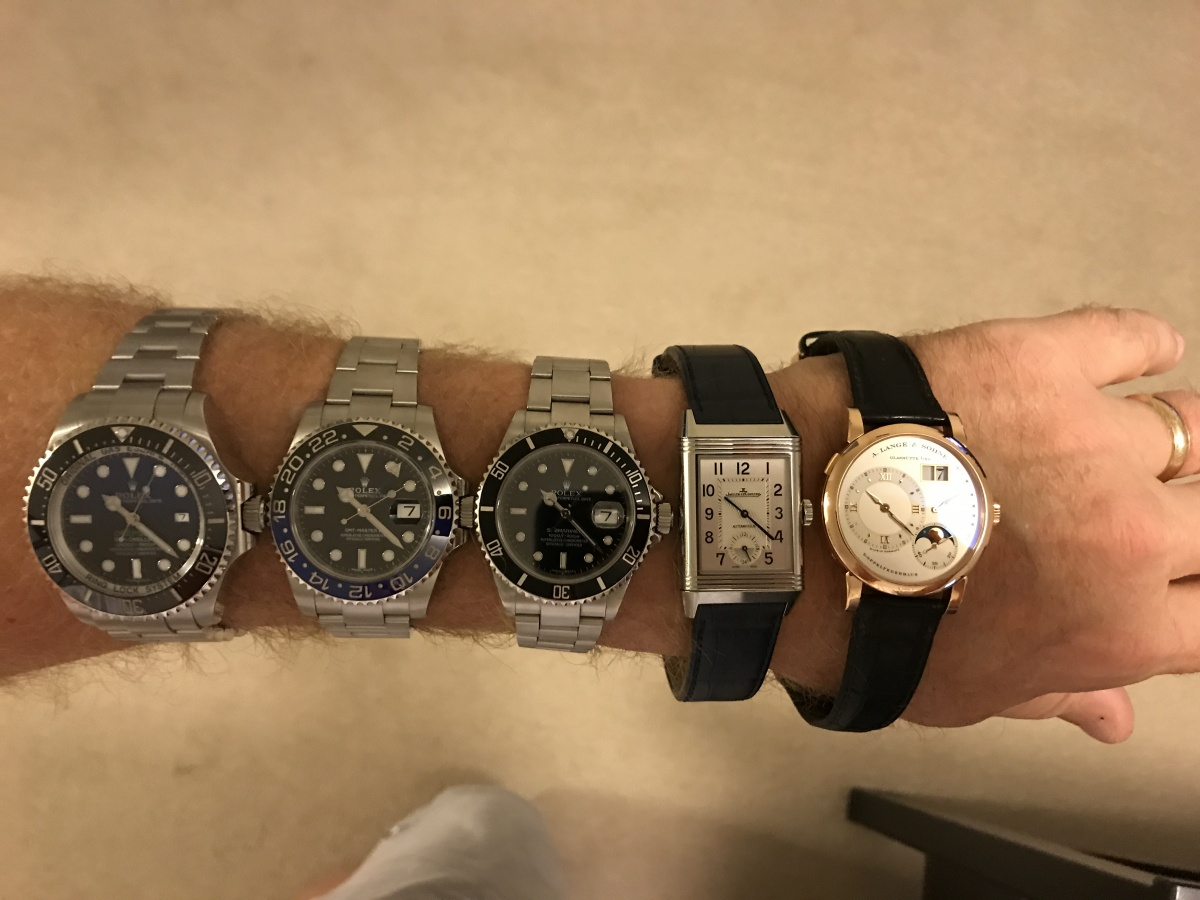 Mechanicals on arm