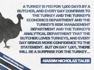 Taleb's Turkey