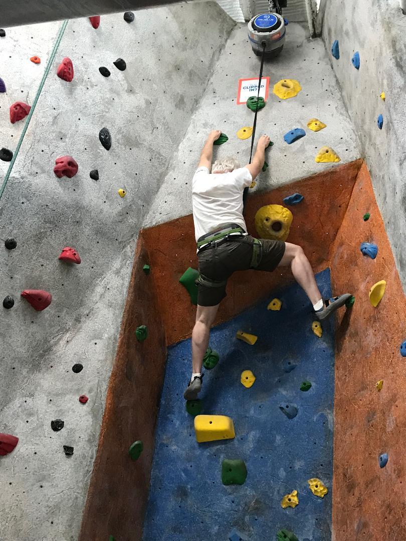 Climbing to retirement?