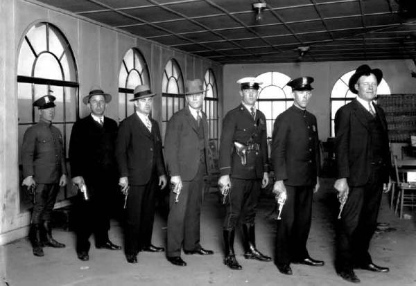 1928 pistol team