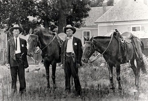 On patrol - Circa 1910