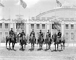Mounted Patrol 1928 Democratic National Convention