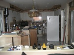 Kitchen is still fully operational during construction. Kitchen was only down for 1 day during the whole reno.