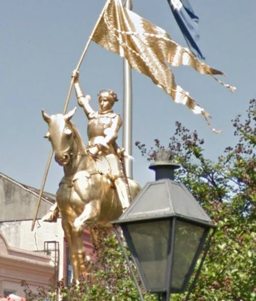 Joan of Arc statue, New Orleans