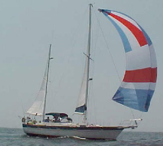 All sails flying